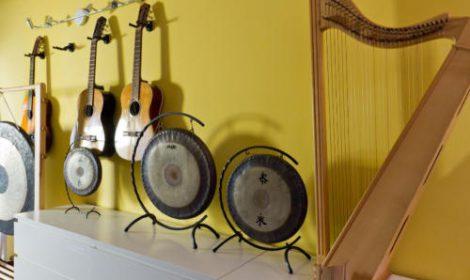 Instrumente Anbau